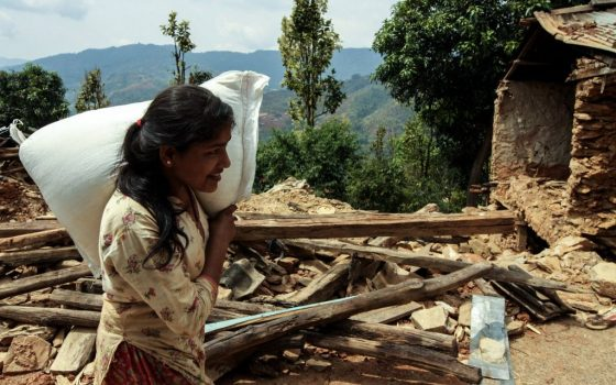 nepal food relief